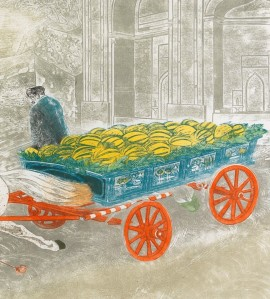 Sheila Robinson - The Melon Cart Istanbul Cropped