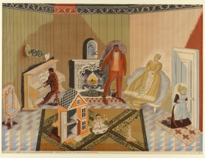 Edward Bawden - The Dolls at Home