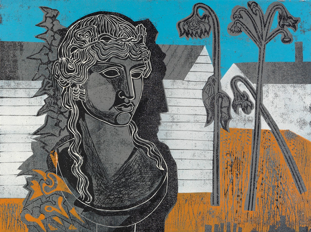 Hoyle - Bust in a Garden